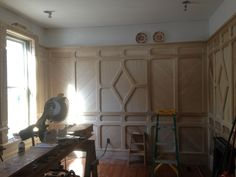 Wow! Modern remodel. Late Victorian Dining Room Update II - Nearing the Finish Line for Woodwork