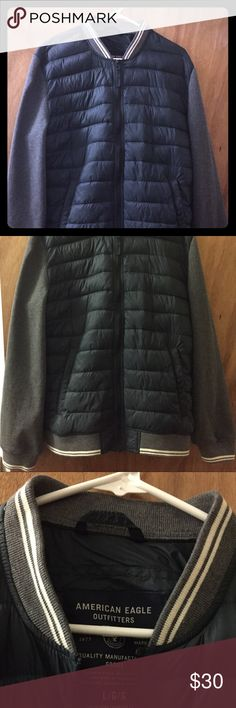 bomber jacket American eagle, almost new,only worn twice American Eagle Outfitters Jackets & Coats Utility Jackets