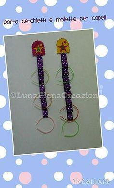 Hair headband organizer / portacerchietti