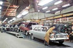 Classics on the production line. - Page 3 - Classic Cars and Yesterday's Heroes - PistonHeads Made In Dagenham, Ford Zephyr, Citroen Traction, Production Line, Assembly Line, Ford Classic Cars, Classic Motors, Car Ford, Ford Motor Company