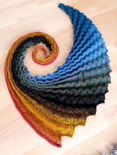 """La cola del dragón """"Nautilus"""" de acuerdo con las instrucciones de """"Tejido Beatrice"""" - Auto-la-Mujer Do-it-yourselfies DIY artesanías"""