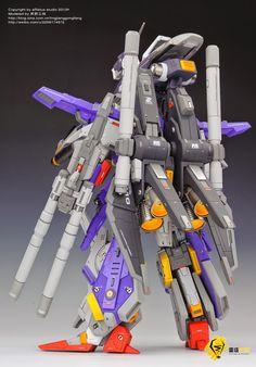 Custom Build: 1/72 FA-010S Full Armor ZZ Gundam - Gundam Kits Collection News and Reviews