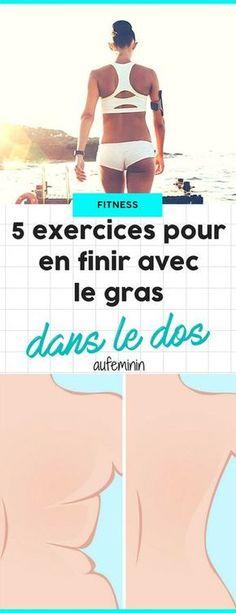 Raffermissez votre dos pour en finir avec ces bourrelets dorsaux sous le soutien-gorge ou dans le décolleté de votre dos-nu ! /// #aufeminin #dos #exercice #fitness #gainage #dorsaux