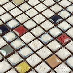 Ceramic Mosaic Tile Porcelain Tiles shower Floor design Kitchen Backsplash Tile Porcelain Mosaics Bathroom Wall Stickers HS0048