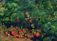 Fedot Sychkov - Strawberries. 1910