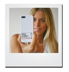 Pole Street White Iphone 5 Cover at € 12.50 on polestreet.com