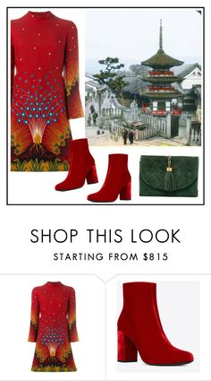 """Untitled #3836"" by julinka111 ❤ liked on Polyvore featuring Valentino, Yves Saint Laurent and Chanel"
