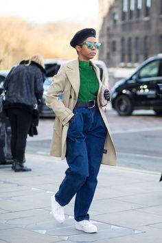 BG STREET STYLE/LFW FW18/Chiara Marina Grioni Fashionista