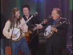 "The late great Earl Scruggs, performing ""Foggy Mountain Breakdown."""
