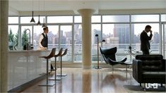 Harvey Specter's apartment, Suits. Does it get any better??