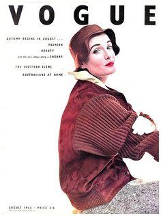 670853bd6f Wanda Parkinson, photo by Norman Parkinson, Vogue UK, August 1952* Vintage  Vogue