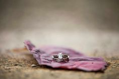 Photograph your wedding details and include the texture of the ground and pieces from the surrounding nature.