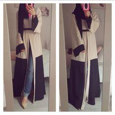 Abaya Kimono TWO COLOR via Jennah Boutique. Click on the image to see more!
