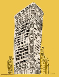 Flat Iron Bulding by Marz jr.