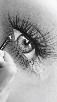 Cool Art Drawings, Pencil Art Drawings, Art Drawings Sketches, Broken Heart Art, Eye Drawing Tutorials, Realistic Eye Drawing, Eyes Artwork, Eye Painting, Eye Photography