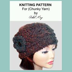 Sian Headband Head Wrap Knitting Pattern