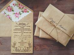 #Handmade #Wedding #Invitation