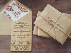#Handmade #Wedding #Invitation