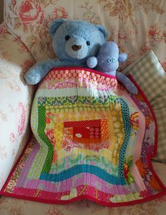 Baby doll quilt! How Cute is that!?