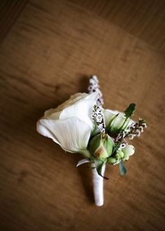 T.J. and Erin's 14 Guest Intimate City Hall Wedding. Catherine Hall Photography. See more..... @intimateweddings.com #boutonniere #cityhallwedding