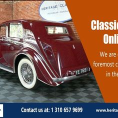 Classic Cars Online are sought after through the last few years which has caused professional antique car auction internet sites open to help collectors and enthusiasts discover.