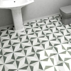 Merola Tile Twenties Diamond 7-3/4 in. x 7-3/4 in. Ceramic Floor and Wall Tile-FRC8TWED - The Home Depot