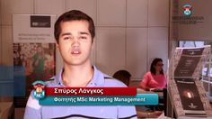 Spyros Langkos M.Sc student testimonial, Living the Mediterranean college experience. Derby, Management, College, Student, Marketing, University, Colleges