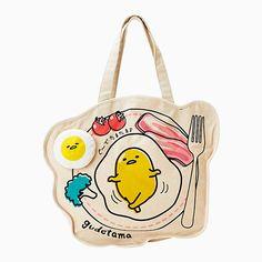Sanrio Gudetama Tote Bag, bag