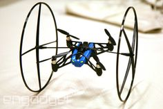 Parrot's MiniDrone climbs walls, rolls across the ceiling, is really, really small - From CES 2014