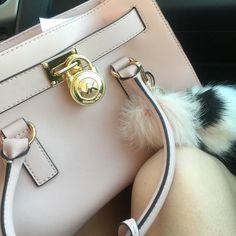 MK large Hamilton Baby pink Michael Kors Bags