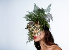 Vogue Daily — Flower Girl mask worn by Denise Porcaro