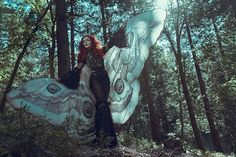 Moth wings costume butterfly cape fairy cloak brown and white Burning Man, Clowns, Pirate Halloween Decorations, Pale Fire, Festival Outfits, Festival Clothing, Moth Wings, Beach Wrap, Bikini Cover Up