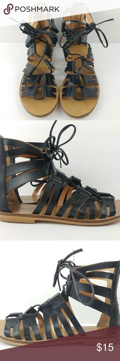 {J.Crew} Gladiator Sandals Size 5.5 Pre-loved. Minimal wear. Sold as is. J. Crew Factory Shoes Sandals