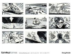 Famousframes Storyboards Animatic Artists Storyboard Artists
