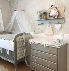 Baby Room Decor, Nursery Room, Girl Nursery, Girl Room, Kids And Parenting, Baby Kids, Sweet Home, Decorative Shelves, Furniture