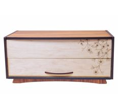 Precious things Blossom jewellery boxby Ian Blackwell New Zealand. Jewelry Box, Jewellery, Oval Mirror, Fish Design, Online Gifts, New Zealand, Arts And Crafts, Wood Carvings, Storage