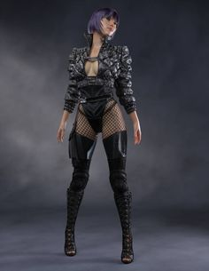 Motoko Kusanagi by exokinetic on DeviantArt Cyberpunk Girl, Arte Cyberpunk, Cyberpunk Fashion, Cyberpunk Tattoo, Cyberpunk 2077, Steampunk Fashion, Gothic Fashion, Fantasy Female Warrior, Fantasy Women