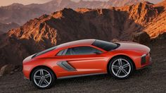 Just ahead of the Frankfurt Motor Show, Audi has revealed the Audi Nanuk Quattro Concept, an all-wheel-drive, turbo-diesel two-seater supercar. Power comes Lamborghini, Audi A8, Audi Quattro, Frankfurt, Crossover, Cool Pictures, Cool Photos, Auto Motor Sport, Cars