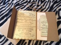 Mom Takes Charge: My Wedding Invites