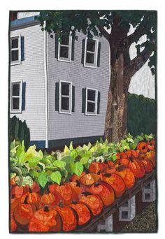 Hadley House by Sarah Sherwin Roberts. SAQA Northern California.