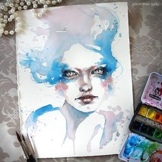 water colour art by