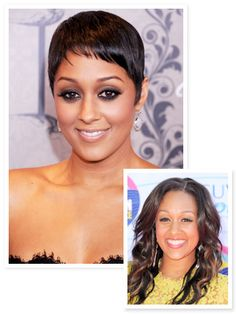 "We got the inside scoop behind Tia & Tamera star Tia Mowry's new pixie cut. ""My son really inspired the change."" http://news.instyle.com/2012/10/08/tia-mowry-haircut-pixie/#"