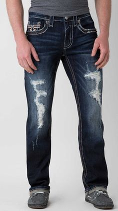 Rock Revival Morancy Straight Jean - Men's Jeans | Buckle
