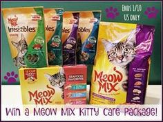 meow mix #giveaway