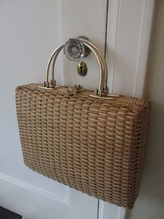 Vintage Guild Creations XL Basket Purse by MemphisNanney on Etsy