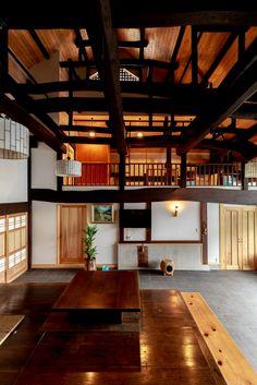 35 Japanese Decor Bring You Peace and Harmony - Japanese Architecture Asian Interior, Japanese Interior, Interior Exterior, Interior Design, Japanese Style House, Traditional Japanese House, Asian Architecture, Interior Architecture, Style At Home