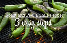 Fresh chile is best