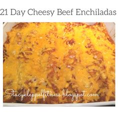 Healthy Home, 21 Day Fix, Enchiladas, Cheesy beef enchiladas, low fat enchiladas, clean eating, clean enchiladas