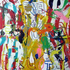 """Saatchi Art Artist: robert tavani; Acrylic 2012 Painting """"The Future is Fruity"""""""