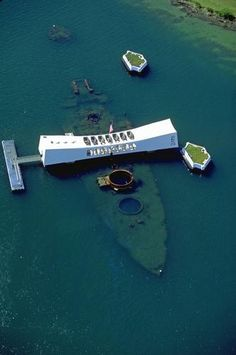 USS Arizona Memorial, Oahu, Hawaii